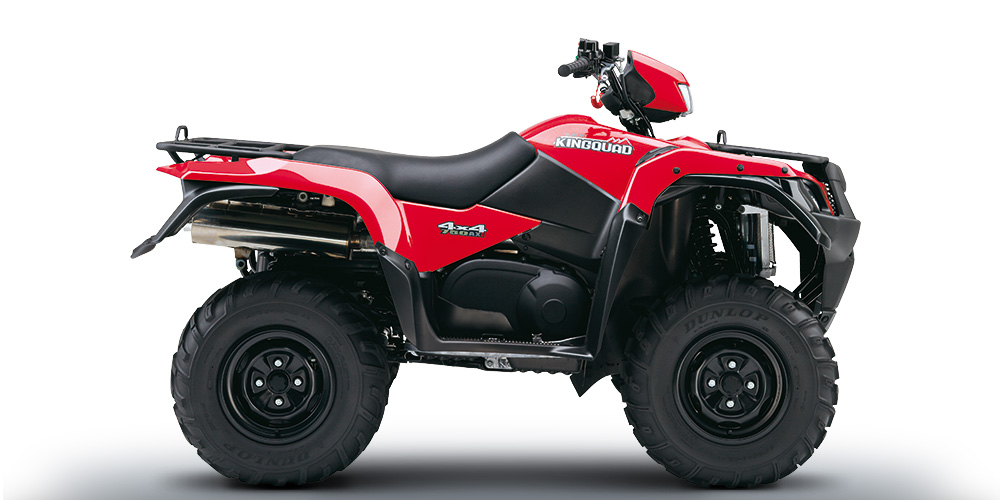 KingQuad 750AXi 4x4 PS red